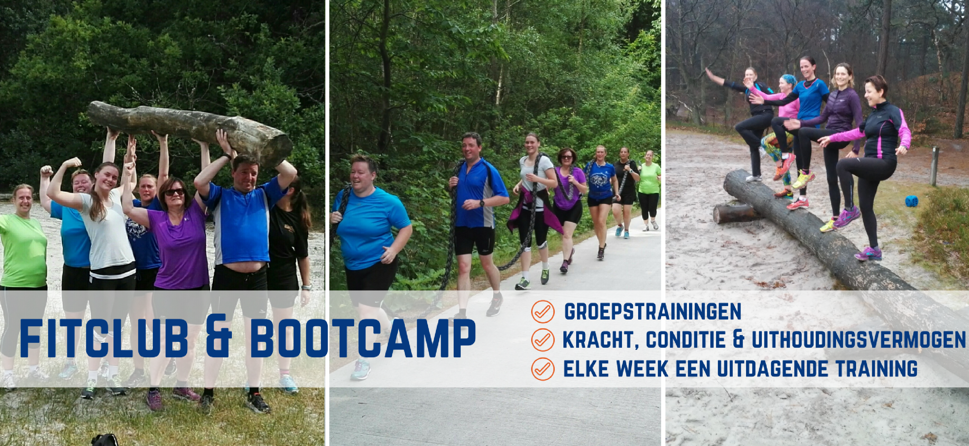 Fitclub en bootcamp training in Alkmaar & Bergen